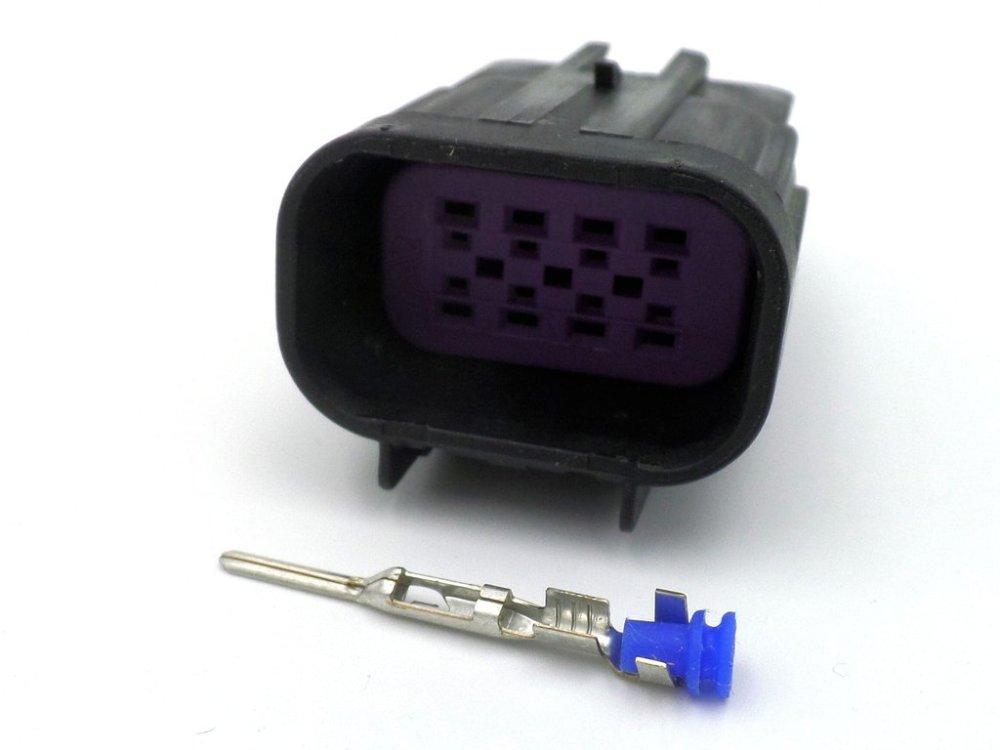 medium resolution of delphi gt150 series 8 way male wiring harness connector plug