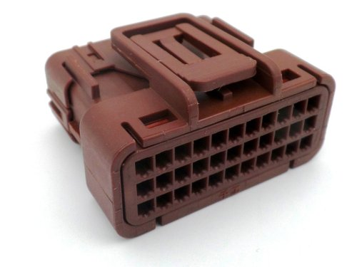 small resolution of honda 33 way brown ecu cdi wiring harness connector plug