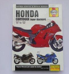 used haynes honda cbr1100xx blackbird manual  [ 1024 x 768 Pixel ]