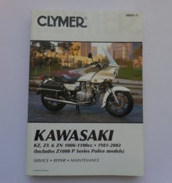 used kawasaki z1000 z1100 kz1100 clymer manual  [ 1024 x 768 Pixel ]
