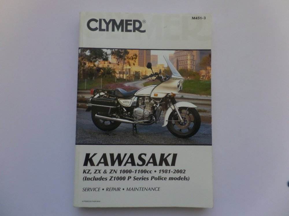 medium resolution of used kawasaki z1000 z1100 kz1100 clymer manual