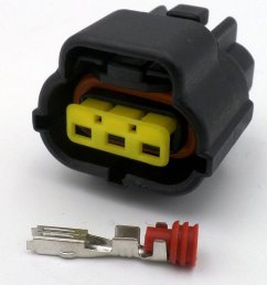 econoseal 3 way ford alternator female wiring connector  [ 1024 x 768 Pixel ]
