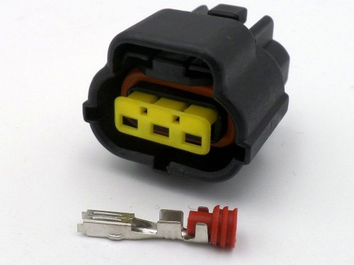 small resolution of econoseal 3 way ford alternator female wiring connector