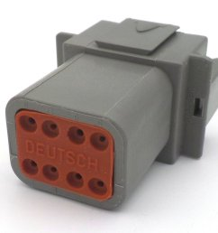 deutsch dt 8 way wiring loom connector dt06 8s dt04 8p [ 1024 x 768 Pixel ]