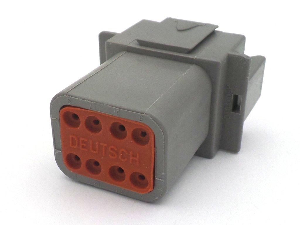 hight resolution of deutsch dt 8 way wiring loom connector dt06 8s dt04 8p
