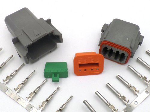 small resolution of deutsch dt 8 way wiring loom connector dt06 8s dt04 8p