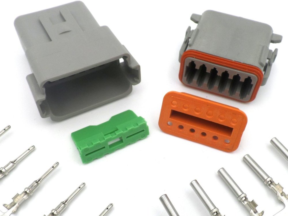 medium resolution of deutsch dt 12 way wiring loom connector dt06 12s dt04 12p