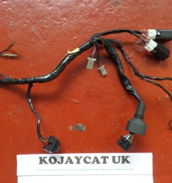 used yamaha r1 4xv headlight speedo wiring loom 4xv 84359 00 24 95  [ 1024 x 768 Pixel ]