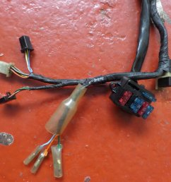 used honda vfr400 nc30 main harness wiring loom 32100mr8010  [ 1024 x 768 Pixel ]