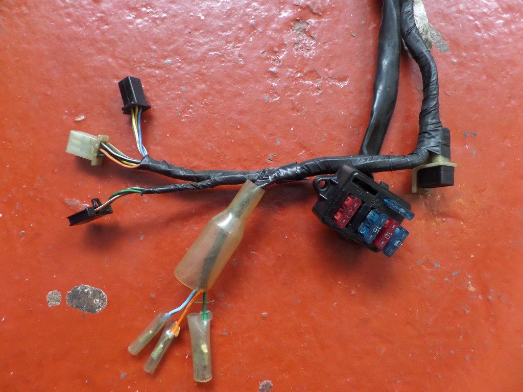 hight resolution of used honda vfr400 nc30 main harness wiring loom 32100mr8010