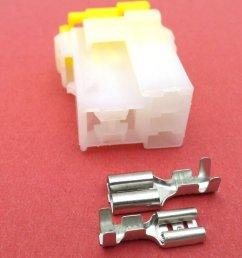 5 way female nais relay base connector plug module [ 1024 x 768 Pixel ]
