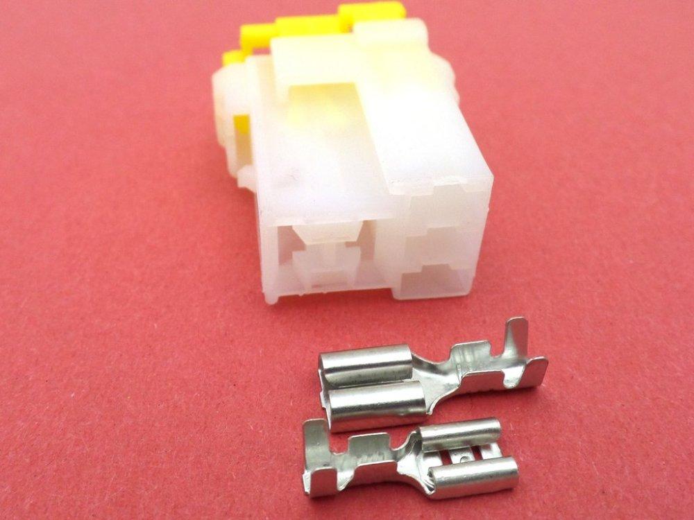 medium resolution of 5 way female nais relay base connector plug module