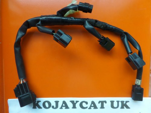 small resolution of used yamaha r1 4c8 ignition coil harness wiring loom 4c8 82309 00