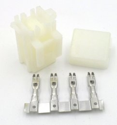 2 way motorcycle bottom entry blade fuse box crimp terminals  [ 1024 x 768 Pixel ]