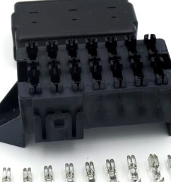 14 way automotive bottom entry blade fuse box crimp terminals [ 1024 x 768 Pixel ]