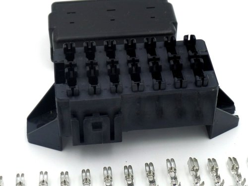 small resolution of 14 way automotive bottom entry blade fuse box crimp terminals