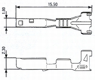 3 Way Yazaki SSD TPS Throttle Position Wiring Harness