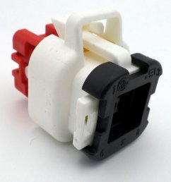 8 way ampseal 12v female white wiring harness connector plug [ 1024 x 768 Pixel ]