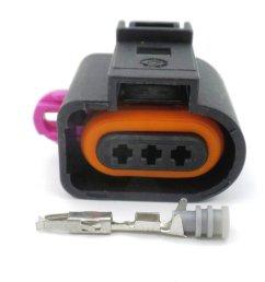 3 way jpt audi vw vag sealed wiring harness loom connector  [ 1024 x 768 Pixel ]