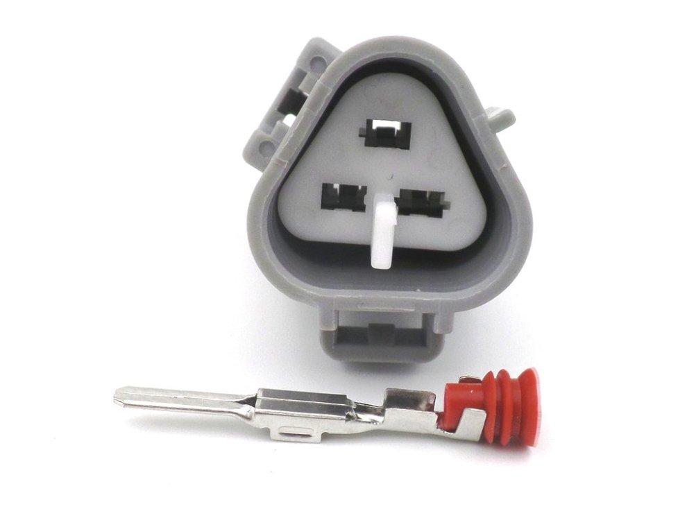 medium resolution of 3 way ts 090 2 3mm male wiring harness connector plug