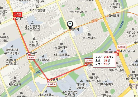 Jeongja Station Subway Map.Shinbundang Line 신분당선 New Bundang Line