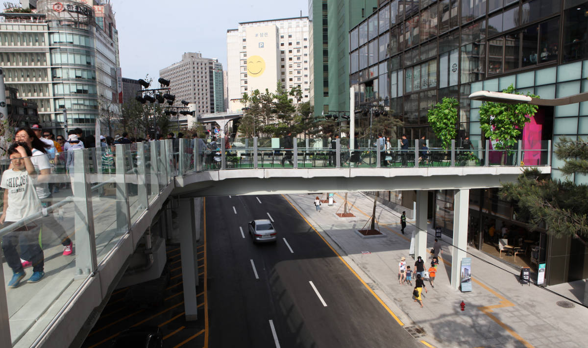 from 1970 to 2017 from seoul station overpass to seoullo 7017 kojects