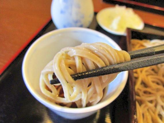 三六庵(みろくあん)、蕎麦