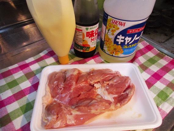 鶏モモ肉,マヨポン,ポンマヨ