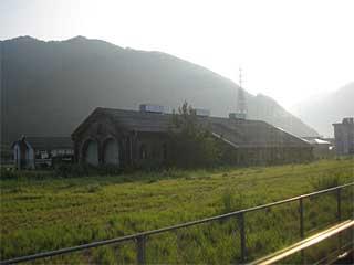 【たじまる】 和田山駅機関庫