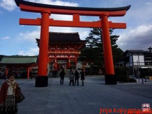 伏見稲荷大社と藤森神社