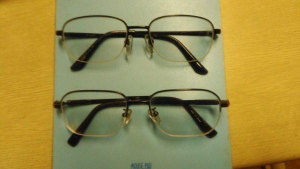 還暦になってメガネが2つになった