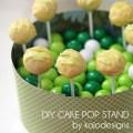 Kojo tutorial diy cake pop stand