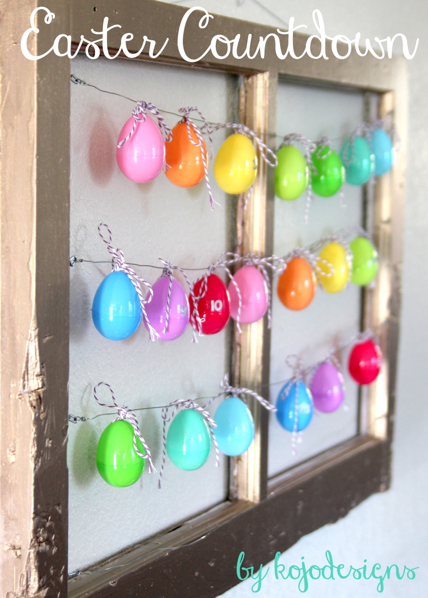 Easter Countdown by kojo Designs
