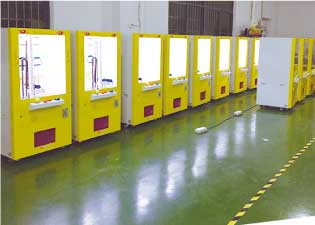 機械生産風景
