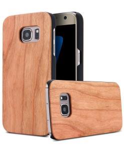Coques bois Galaxy S6 S7