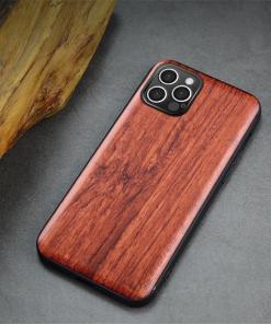 Coque en bois personnalisable iPhone 13 12 11 X 8 7