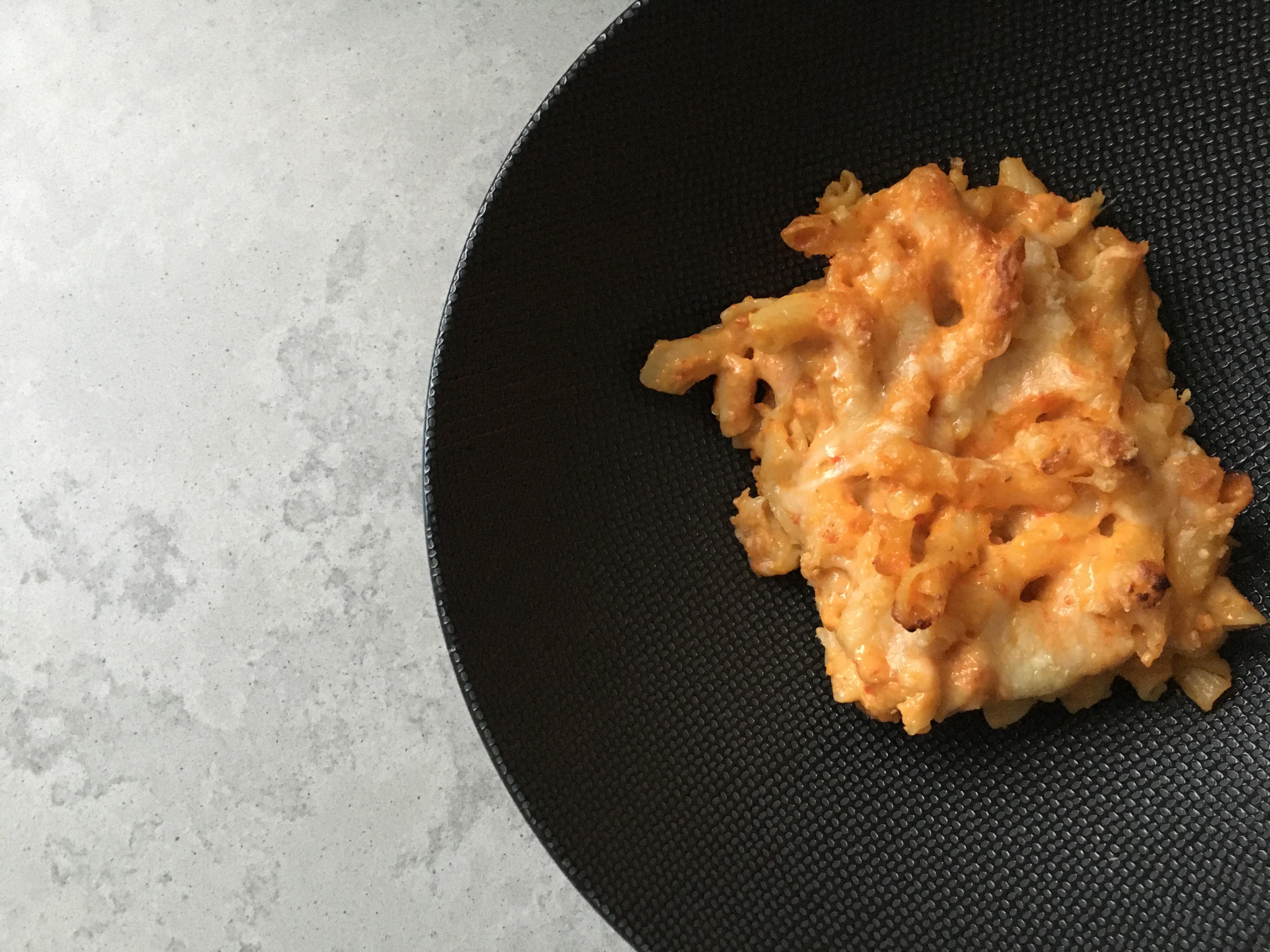 Macaroni met verborgen groenten