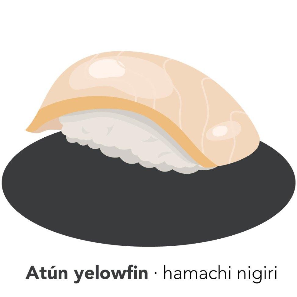 sushi hamachi koketo