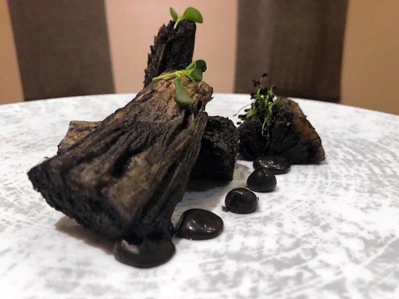 Leña vegetal. Chef Koketo Chef Koketo