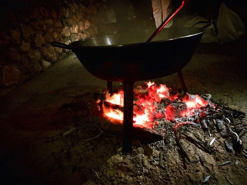 La noche en Alcocer