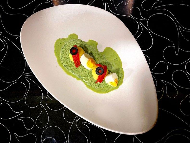 Ocopa arequipeña. Chef Koketo