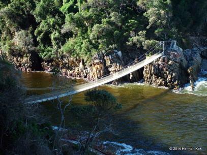 Storms River Mouth Bridge