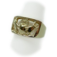 14K Gold Claddagh Ring | Mens | Kokkinos Creative Jewelers