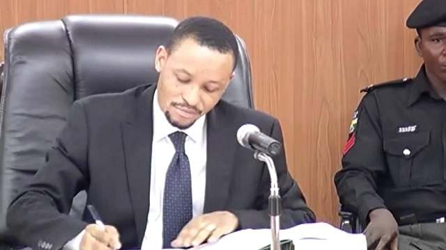 Code Of Conduct Tribunal Chairman, Danladi Umar Explains Why He Assaulted Security Guard At Abuja Plaza
