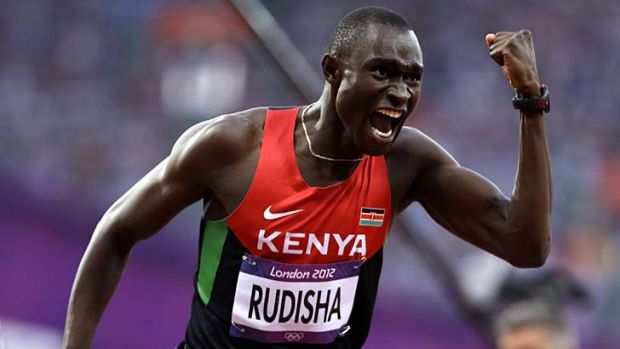 Kenyan 800m World Record Holder David Rudisha Out Of World ...