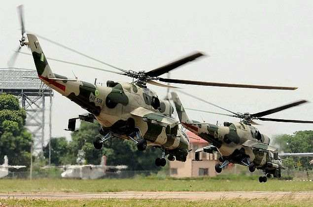 Nigerian Air Force Kill Boko Haram Insurgents In Borno 2