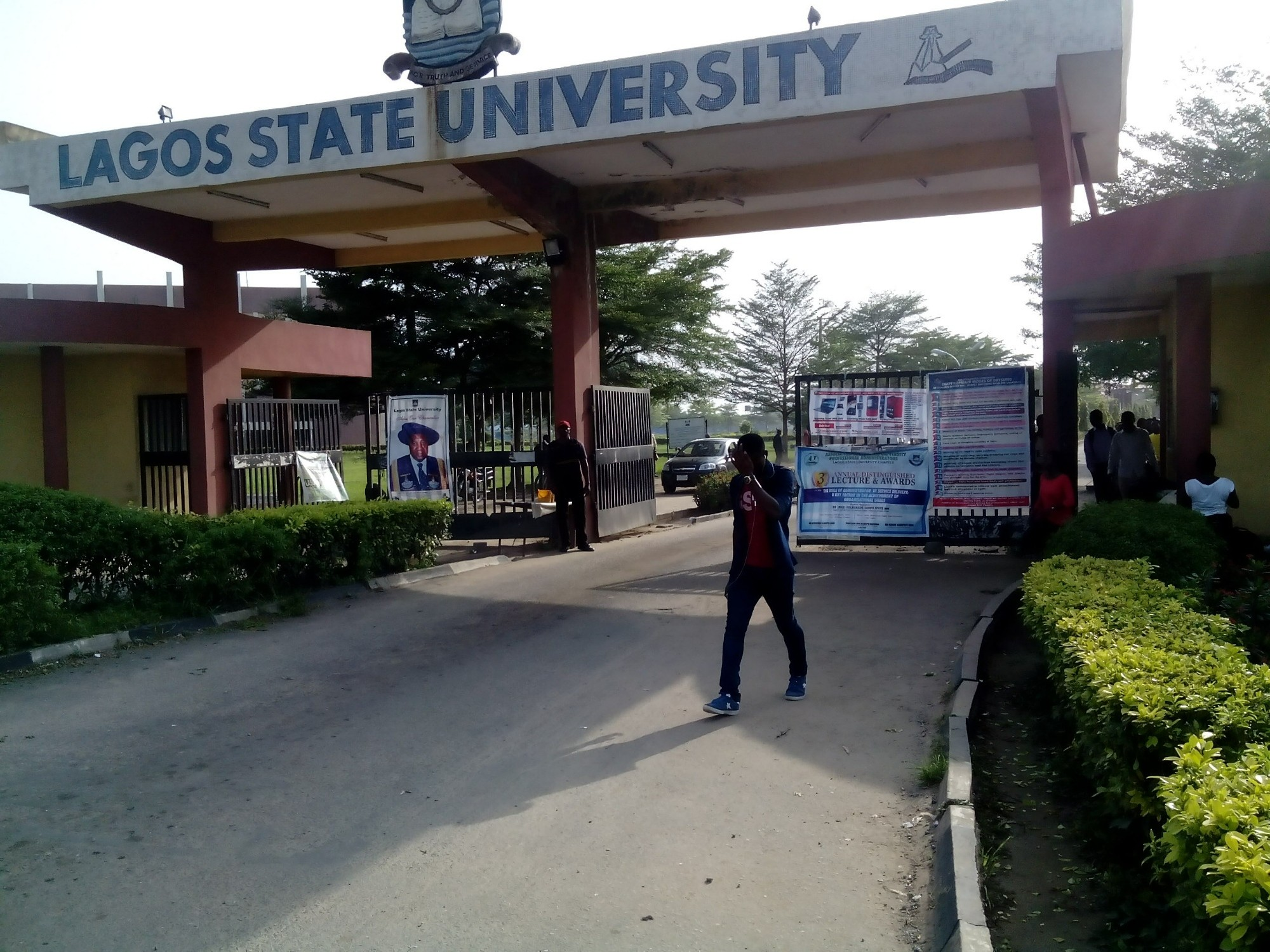 LASU Students Protest 168% Tuition Fees Increase, Demand Immediate Reversal To Old Fees