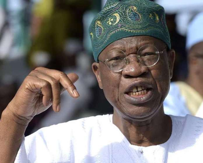 Selling Your Vote Is Like Selling Your Destiny- Lai Mohammed 2