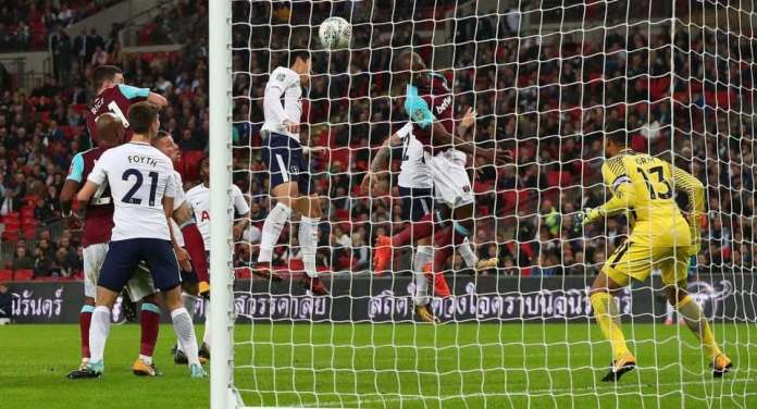 Tottenham 2 West Ham 3: Andre Ayew's Brace Saves Slaven Bilic's Job, As Hammers Stuns Spurs With Comeback Carabao Cup Win 6