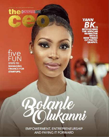 Bolanle Olukanni Covers The 7th Edition Of The Business Day CEO Magazine 1